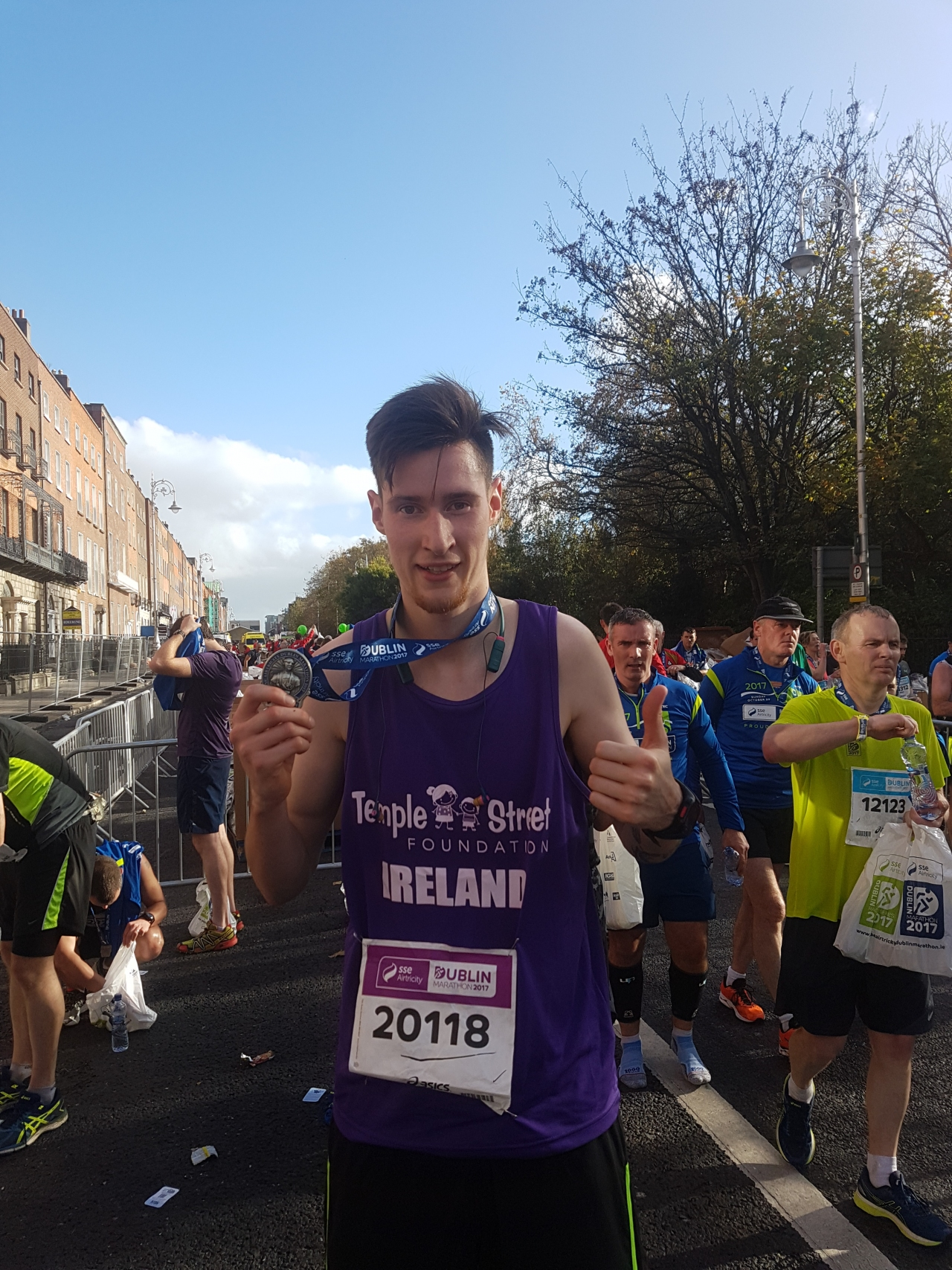 Ryan Runs Dublin Marathon for Temple Street! hero
