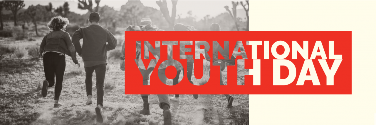 Happy International Youth Day! hero