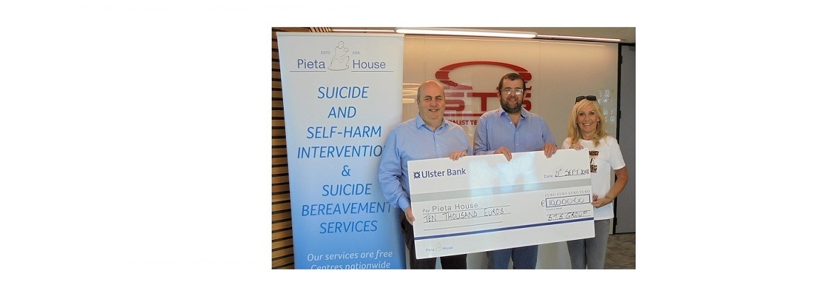 Team STS raise €10,000 for Mental Health Charity hero