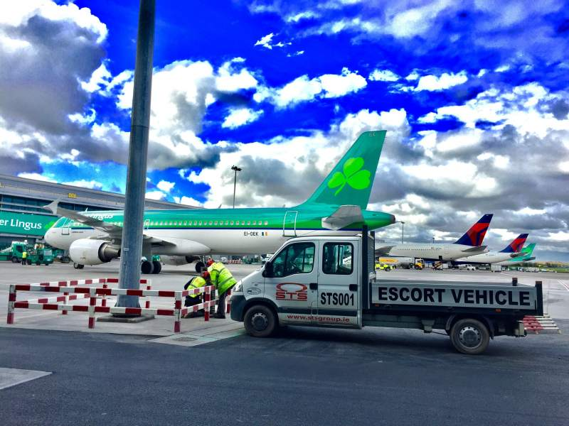High Mast Lighting Upgrade, Dublin Airport, Ireland hero